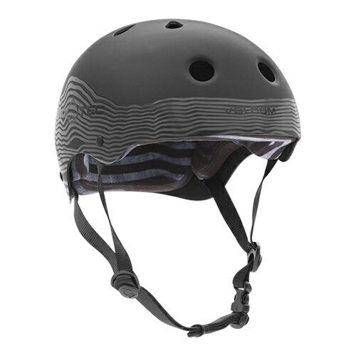 【プロテック ヘルメット】PRO-TEC HELMET CLASSIC SKATE VOLCOM(ヴォルコム) MAG VIBES XS●プロテクター パッド/キッズ・ガールズ