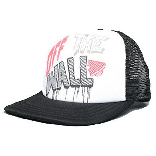 【バンズ キャップ】VANS CAP TRUCKER OFF THE WALL