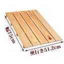 すのこ サイズ 75cm×51.2cm 国産ひのき スノコ ヒノキ 桧 檜 玄関 押入れ 広板