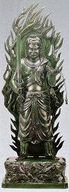 不動明王 仏像通販/不動明王 60号 般若純一郎作品 高岡銅器の神仏具/送料無料