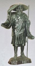 親鸞聖人の銅像 70号/仏像 般若純一郎作品 高岡銅器の神仏具/送料無料