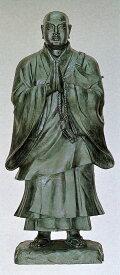 日蓮聖人像 64号/高さ193cmの銅像 仏像/高岡銅器通販