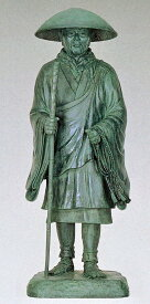 親鸞聖人像 65号/高さ195cmの銅像 仏像/高岡銅器通販