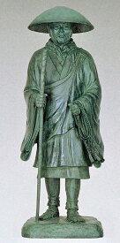 親鸞聖人像 80号/浄土宗・浄土真宗・真宗の銅像 高さ240cm 仏像/高岡銅器通販