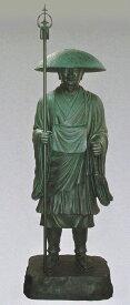 弘法大師像 70号/真言宗の銅像 高さ215cm 仏像/高岡銅器通販