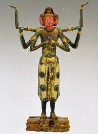 阿修羅像/高岡銅器の仏像 喜多敏勝作品 美術工芸通販/送料無料