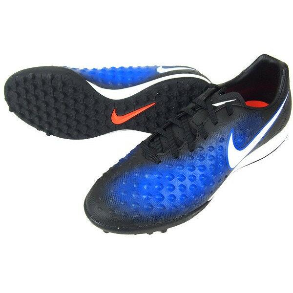 NIKE サッカー トレーニングシューズ マジスタ オンダ 2 TF 844417-015 黒/ブルー ナイキ
