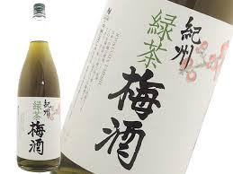 中野 紀州 緑茶梅酒12° 1.8L 1本