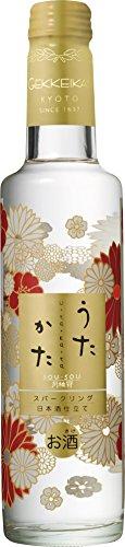 月桂冠 うたかた スパークリング 日本酒仕立て 285ml