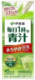 伊藤園 毎日1杯の青汁 パック 200ml×48個 (24個×2ケース)