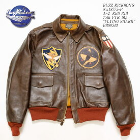 BUZZ RICKSON'S バズリクソンズ A-2 No.18775-P RED RIB PATCH BR80543 ≪新商品!≫