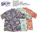 "SUN SURF サンサーフ COTTON / LINEN SLUBYARN OPEN SHIRT ""PARADISE OF THE PACIFIC"" SS37865"