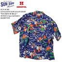 "SUN SURF サンサーフ S/S RAYON HAWAIIAN SHIRT ""TOURIST BUREAU"" HINOYA Special Order SS33877HY"