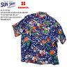 """SUN SURF サンサーフ S/S RAYON  HAWAIIAN  SHIRT """"TOURIST BUREAU..."""