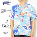 "SUN SURF サンサーフ S/S RAYON HAWAIIAN SHIRT ""GOLD FISH"" SS38027 ≪新商品!≫"