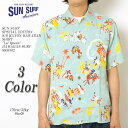 "SUN SURF サンサーフ SPECIAL EDITION S/S RAYON HAWAIIAN SHIRT ""Lei Queen"" HAWAIIAN SURF SS38102 ≪新商品!≫ 送料無料 日…"