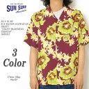"SUN SURF サンサーフ S/S RAYON HAWAIIAN SHIRT ""NIGHT BLOOMING CEREUS"" SS38315 ≪新商品!≫"