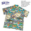 "SUN SURF HINOYA EXCLUSIVE SPECIAL EDITION ""LAND OF ALOHA"" SHORT SLEEVESS36984HY  ≪新商品!≫送料無料 日…"