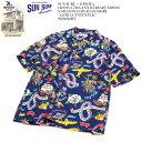 "SUN SURF × HINOYA サンサーフ×ヒノヤ HINOYA 70th ANNIVERSARY MODEL S/S RAYON HAWAIIAN SHIRT ""ALOHA CENTENNIAL"" SS38212H…"