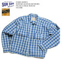 UNION SUPPLY by SUN SURF (ユニオン サプライ) BARBARA KAWAKAMI MODEL PALAKA CHECK BLOUSE US14590 送料無料 …
