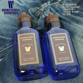 "WAREHOUSE ウエアハウス NANO COLLOIDPREMIUM ""DENIM-WASH"" 5217WH/5221WH"