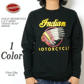 "INDIAN MOTORCYCLE インディアンモーターサイクル L/S T-SHIRT ""INDIAN HEAD"" IM68455 ≪新商品!≫"