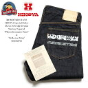 "MOMOTARO JEANS × HINOYA 桃太郎ジーンズ × ヒノヤ HINOYA Special Order 15.7oz. Selvedge Denim Narrow Tapered ""Photochromat…"