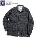 鬼デニム ONI DENIM Coveralls 12oz Loose Weave Deinim ONI-03128 送料無料 日本製 国産 カバーオール メンズ ジャケット ワーク ヴィ…