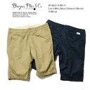 BURGUS PLUS バーガスプラス Lot.S401 Trouser Shorts S401-66