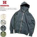 HINOYA ヒノヤ RAGLAN FULL ZIP SWEAT PARKA H-0089ZPK 送料無料 日本製 国産 スウェット パーカー 無地 ビンテージ