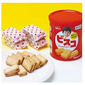 ビスコ保存缶(賞味期限5年)×10缶セット【防災用品 非常食 保存食】 B-2351