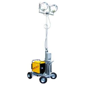 水圧昇降式投光機<アクアテレスコ>(発電機付)2灯式 B-6230