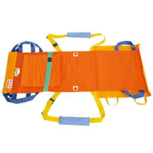 【救護担架】ワンタッチ式ベルトタンカ ベルカ(別袋付き) SB-160