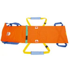 【救護担架】ワンタッチ式ベルトタンカ ベルカ(別袋付き) SB-180