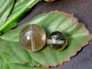 56964  今月の半額 わけあり 虹入り ルチルクォーツ 水晶 10mm/15mm 2粒set 針水晶 送料無料 ブラジル産 天然石 パワーストーン