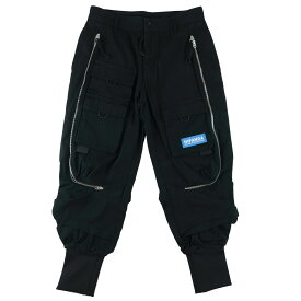 NEW ARRIVAL |【公式】ハイパンダ メンズ マルチ ファスナー デザイン パンツ / HIPANDA MEN'S MULTI ZIP DESIGN PANTS