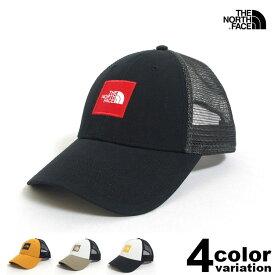 THE NORTH FACE ザ ノースフェイス メッシュキャップ TNF BOX LOGO TRUCKER HAT (north face キャップ アウトドア NF0A3FKX 2019 ) 【あす楽対応】