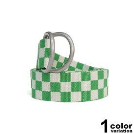 ステューシー STUSSY WOMEN ダブルリング ベルト レディース Sabi Checker Jacquard Belt (stussy ベルト 235005 ストゥーシー スチューシー ) 【あす楽対応】 【メール便対応】