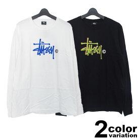ステューシー STUSSY WOMEN Tシャツ 長袖 レディース Basic Logo L/SL Tee (stussy tee ティーシャツ T-SHIRTS カットソー トップス 2992599 ストゥーシー スチューシー) 【あす楽対応】