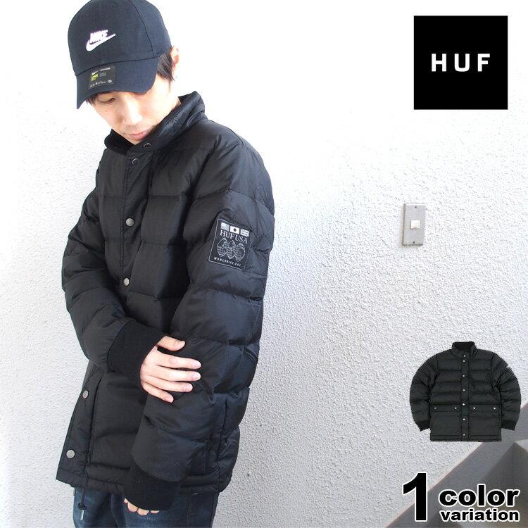 ハフ HUF ダウンジャケット TUNDRA JACKET (huf ジャケット JK00086 ストリート アウター 大きいサイズ ) 【あす楽対応】