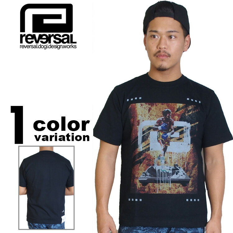 【リバーサル tシャツ】 reversal REVERSAL Tシャツ BREAK BEATS TEE [RVAP16SS028] 【リバーサル tシャツ reversal REVERSAL メンズ トップス 大きいサイズ 2016年新作 】【あす楽対応】