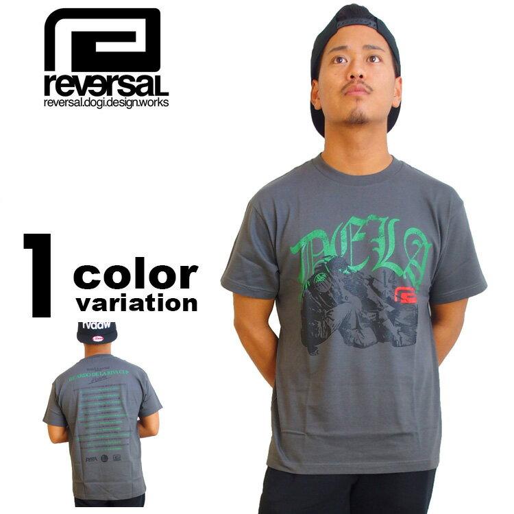 【リバーサル tシャツ】 reversal REVERSAL Tシャツ DE LA RIVA CUP TEE [T409] 【リバーサル tシャツ reversal REVERSAL メンズ トップス 大きいサイズ 2016年新作 】【あす楽対応】