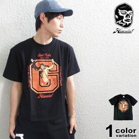 (ハオミン) HAOMING ジャイアント馬場16文キック Tシャツ [GB19-01] Tシャツ 半袖 カットソー ジャイアント 馬場 全日本 プロレス 国内正規品