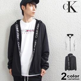 Calvin Klein カルバンクライン ウインドブレーカー ブWater Resistant Hooded Jacket USモデル 大きいサイズ メンズ (calvin klein ジャケット アウター CM006897) 【あす楽対応】