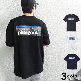 patagonia パタゴニア Tシャツ 半袖 P-6 ロゴ レスポンシビリティー Tシャツ EUライン メンズ レディース (patagonia tシャツ ロゴ アウトドア 大きいサイズ 38504 ) 【あす楽対応】 【メール便対応】
