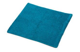 Hippotamus 洗的毛巾毛巾有机池塘里毛巾棉花做成的日本普通豪华婴儿礼物内祝i 手毛巾身体毛巾客用毛巾在选择的加勒比蓝色今不能