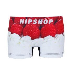 HIPSHOP ヒップショップ STRAWBERRY SPONGE CAKE/ショートケーキ アンダーパンツ レディース ポリエステルタイプ 前閉じ M/L HC8242A105-1BE