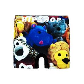 HIPSHOP(ヒップショップ)STUFFED ANIMAL/ぬいぐるみ アンダーパンツ キッズ ポリエステルタイプ /ボクサーパンツ 子供用 子ども 前閉じ 130/150 HD4244A121