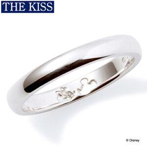 ディズニーリング 指輪 グッズ ミッキー&ミニー 隠れミッキー シンプル レディース 単品 アクセサリー THE KISS ザキス ザキッス プレゼント 彼女 女性 誕生日 記念日 DI-SR1812DM