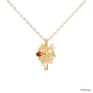 ディズニー / 『ふしぎの国のアリス』 グッズ ネックレス / Red Roses / Disney K18 アクセサリー ジュエリー レディース 女性 プレゼント ケイウノ